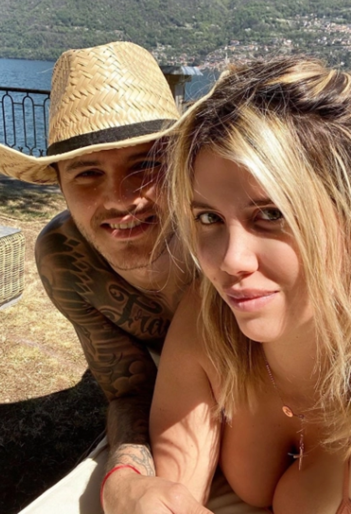 Icardi's wife Wanda in tiny crop top as she vows to release fitness videos