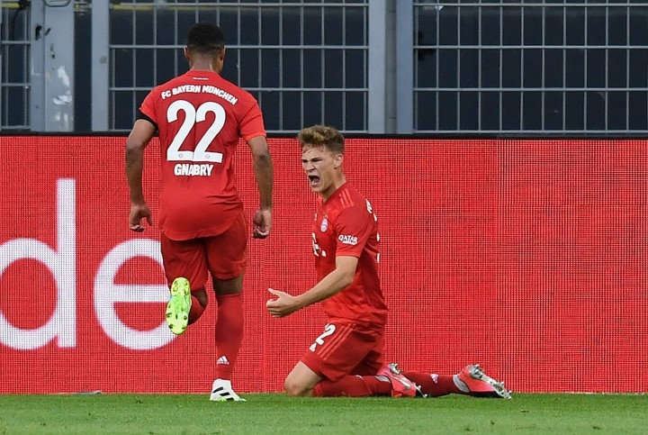 Kimmich has 3 goals from outside box in Bundesliga 19/20, most among teammates