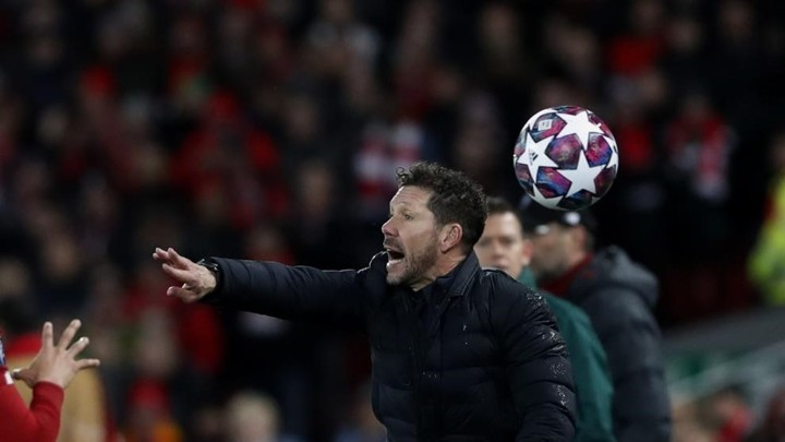 Simeone: Atletico Madrid's weapon to qualify for the Champions League