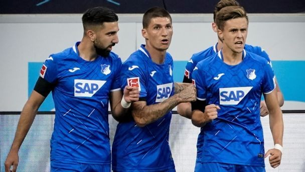 Hoffenheim back in European mix with win over Cologne
