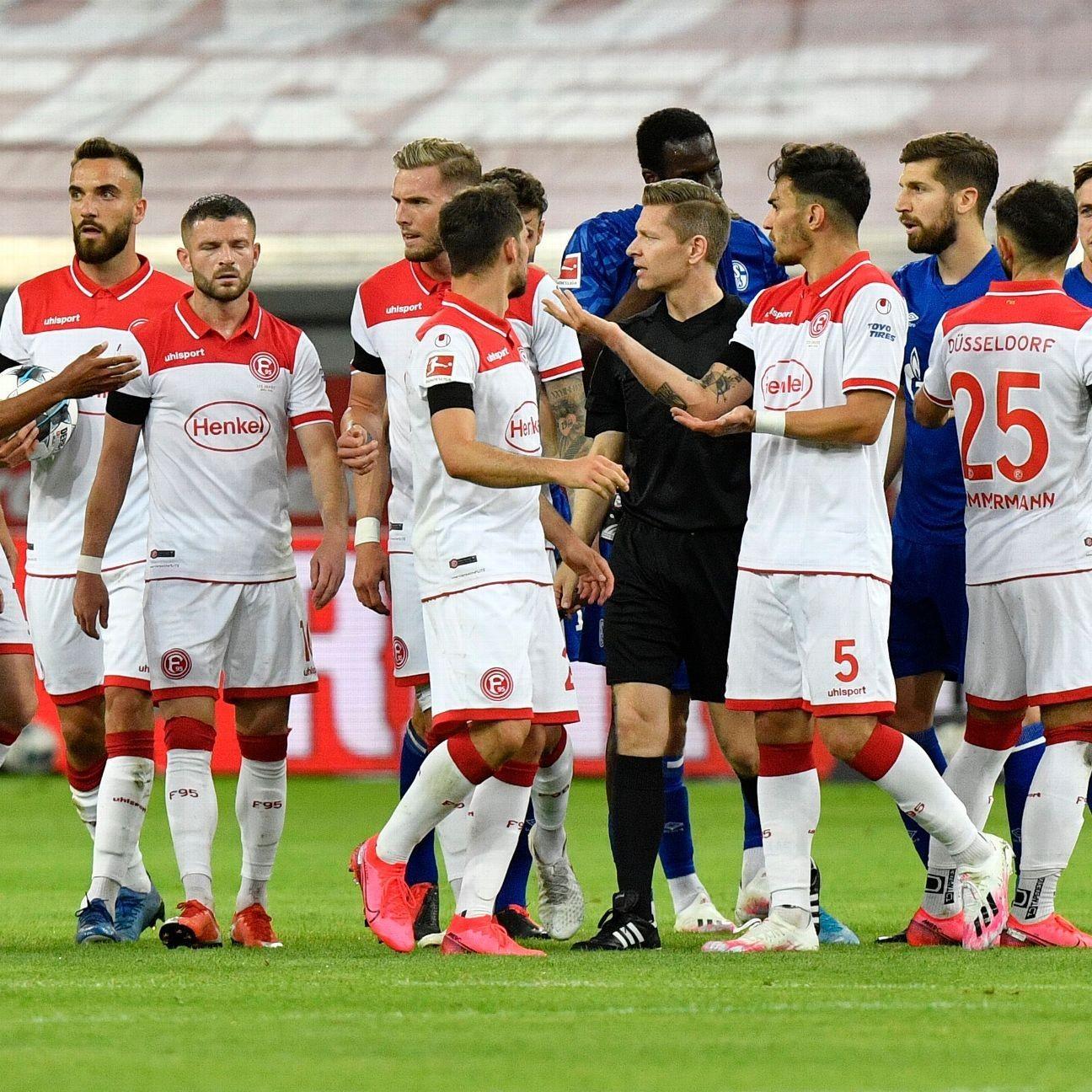Fortuna Dusseldorf boost survival hopes with 2-1 win over Schalke