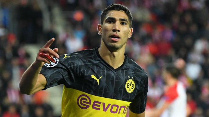 'Hakimi's aim is to play for Real Madrid'