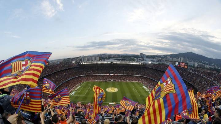 Barca 'set to sell jerseys to raise money & create mosaic for Atletico clash'