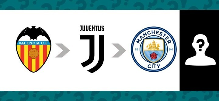Valencia → Juventus → Manchester City: Who is he?