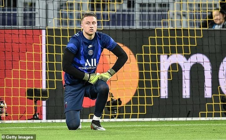 PSG goalkeeper Bulka wrecks £200,000 yellow Lamborghini