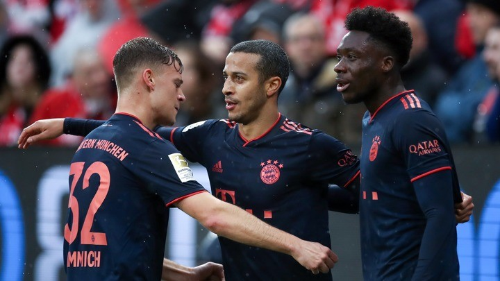 'Kimmich and Thiago are the best midfield pairing in the world'