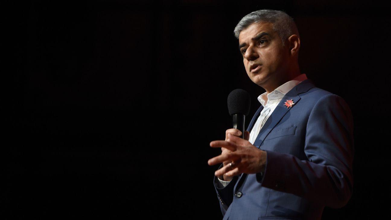 Premier League return could lead to coronavirus spread - London mayor Khan
