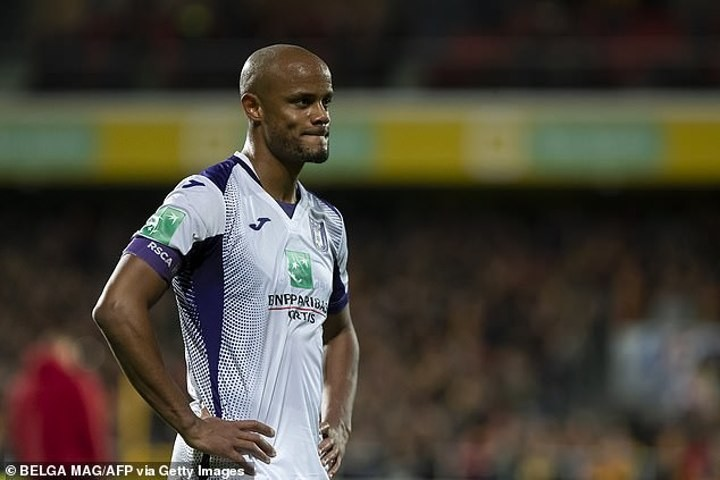Kompany will 'STAY with Anderlecht despite Man City holding talks about return'