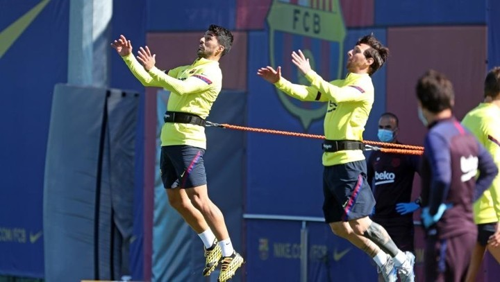Suarez scores in training and will start for Barca in Mallorca game (Sport)