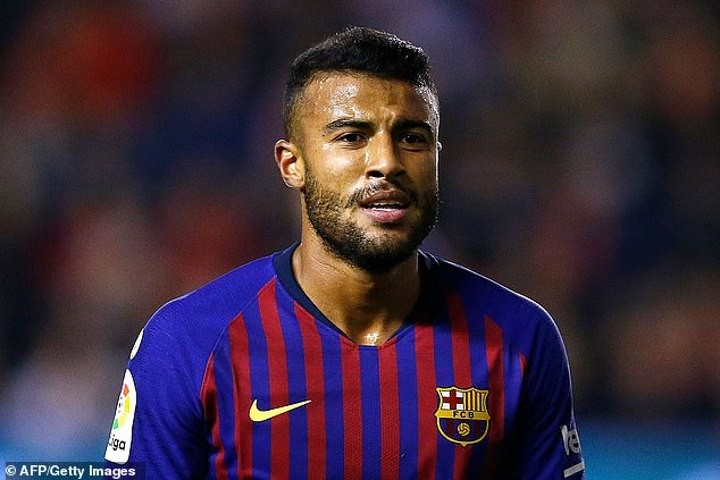 Arsenal 'chasing Barcelona midfielder Rafinha who could cost as little as £13m' this summer