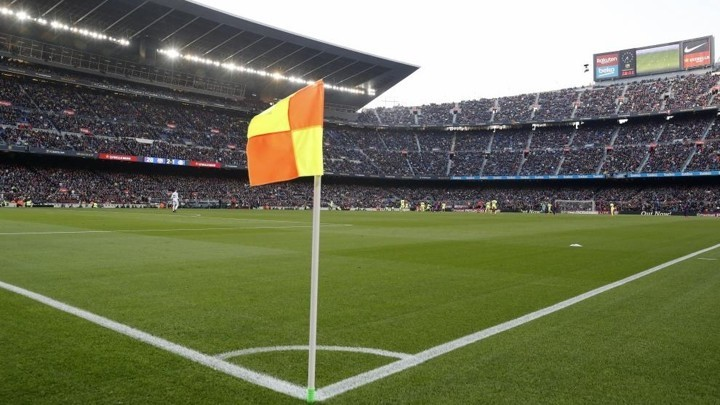 Barcelona prepare solidarity mosaic for match against Atletico Madrid