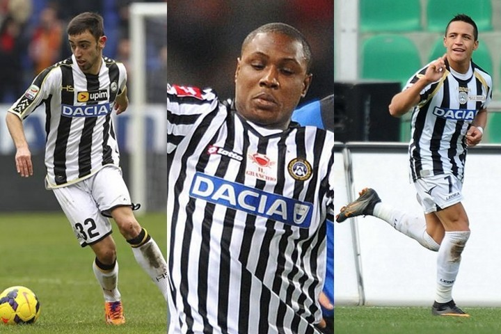 Bruno Fernandes, Sanchez, Ighalo... Famous players Udinese have given football