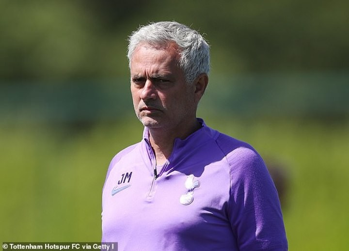 Jose Mourinho praises Tottenham players for professionalism despite lockdown breaches