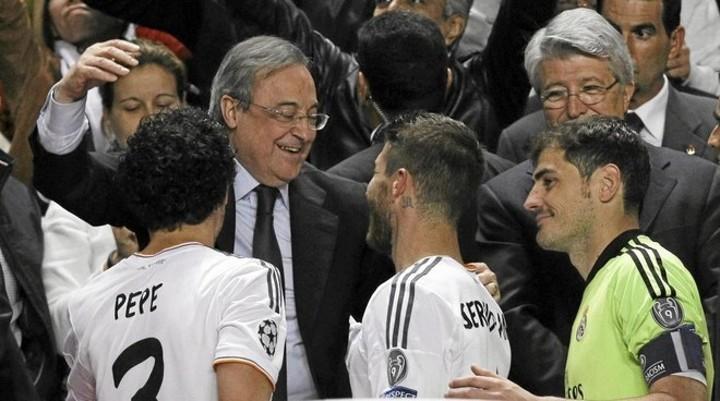 Florentno Perez phones Ramos to recall 2014 equaliser against Atletico