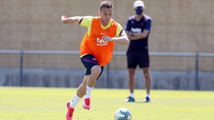 Arthur's situation at Barcelona is still open to change (AS)
