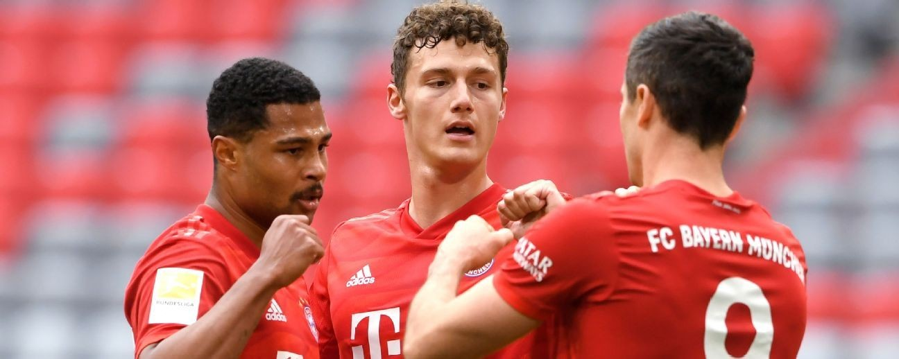 Lewandowski, Davies score as Bayern Munich race past Fortuna Dusseldorf