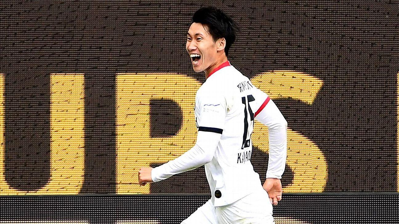 Daichi Kamada steps up when Eintracht Frankfurt need it the most