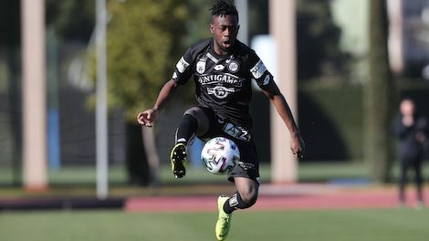 Sturm Graz youngster Winfred Amoah dreams of playing in a bigger league in future