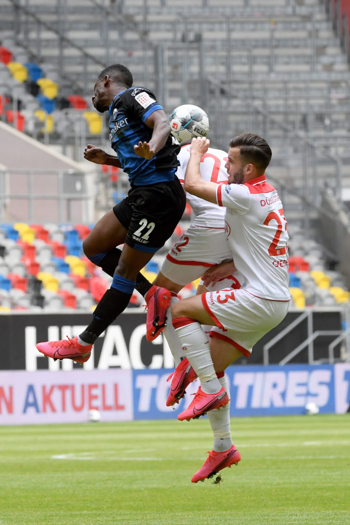 Christopher Antwi-Adjei plays full throttle as Paderborn hold Augsburg