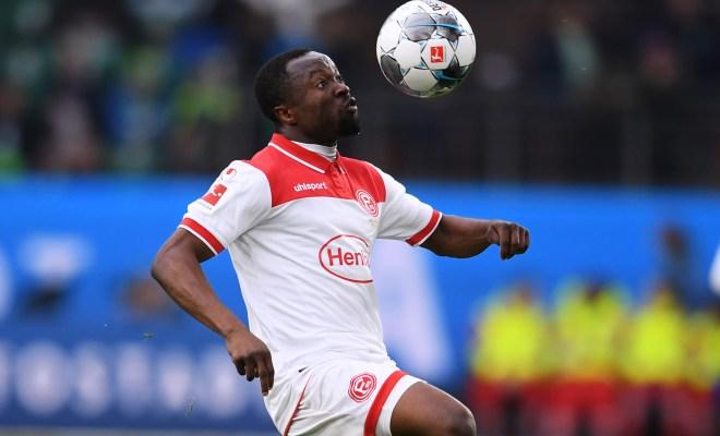 Fortuna Düsseldorf consider terminating Bernard Tekpetey loan deal this summer