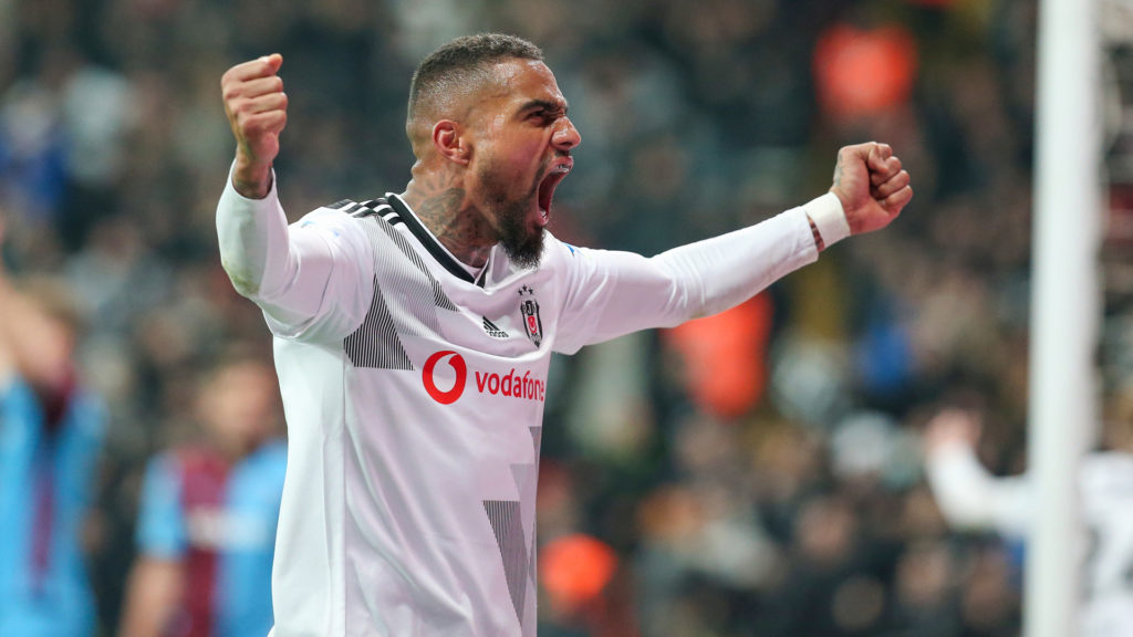 Besiktas send Ghana forward Kevin-Prince Boateng back to Fiorentina