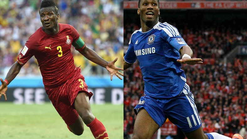 Didier Drogba reveals admiration for 'favourite' striker Asamoah Gyan