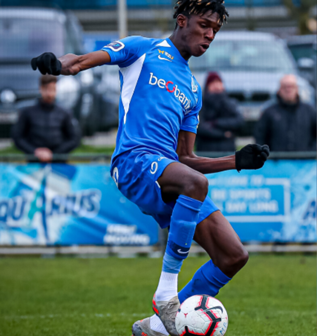 Belgian side Genk promote 15-year-old kid Pierre Dwomoh to the First Team