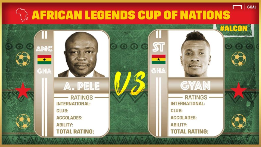 African Legends Cup of Nations: Abedi Pele vs Gyan