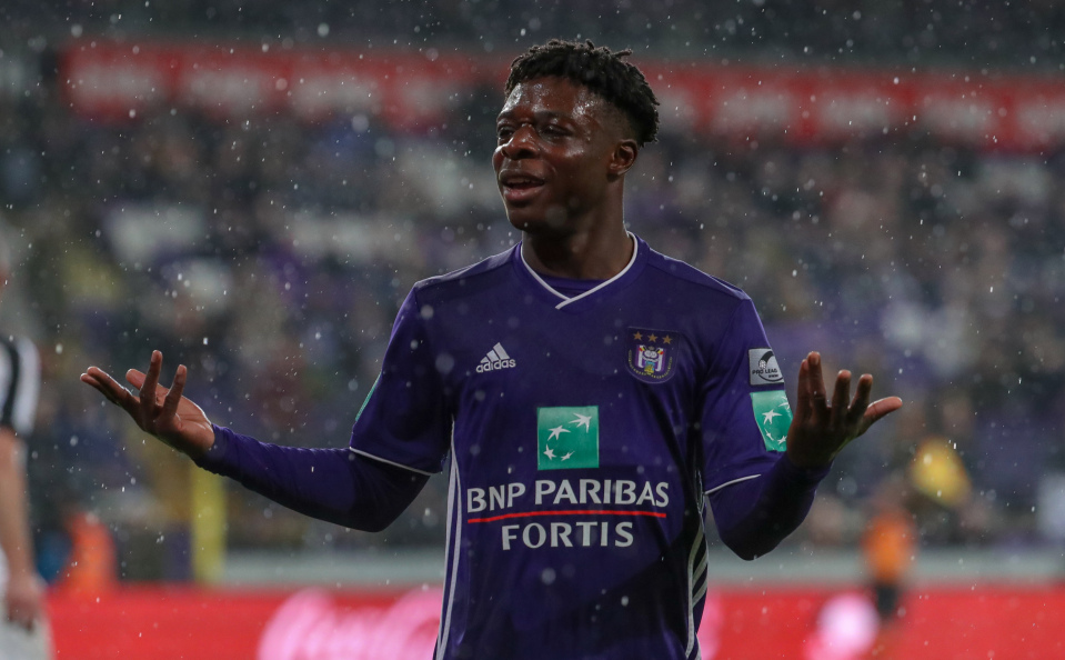 Anderlecht Ghanaian teen Jérémy Doku being discussed at Real Madrid
