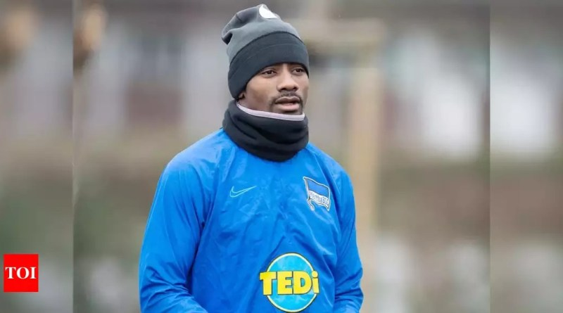 VIDEO: Salomon Kalou banned from Hertha Berlin training for breaking social distancing rules