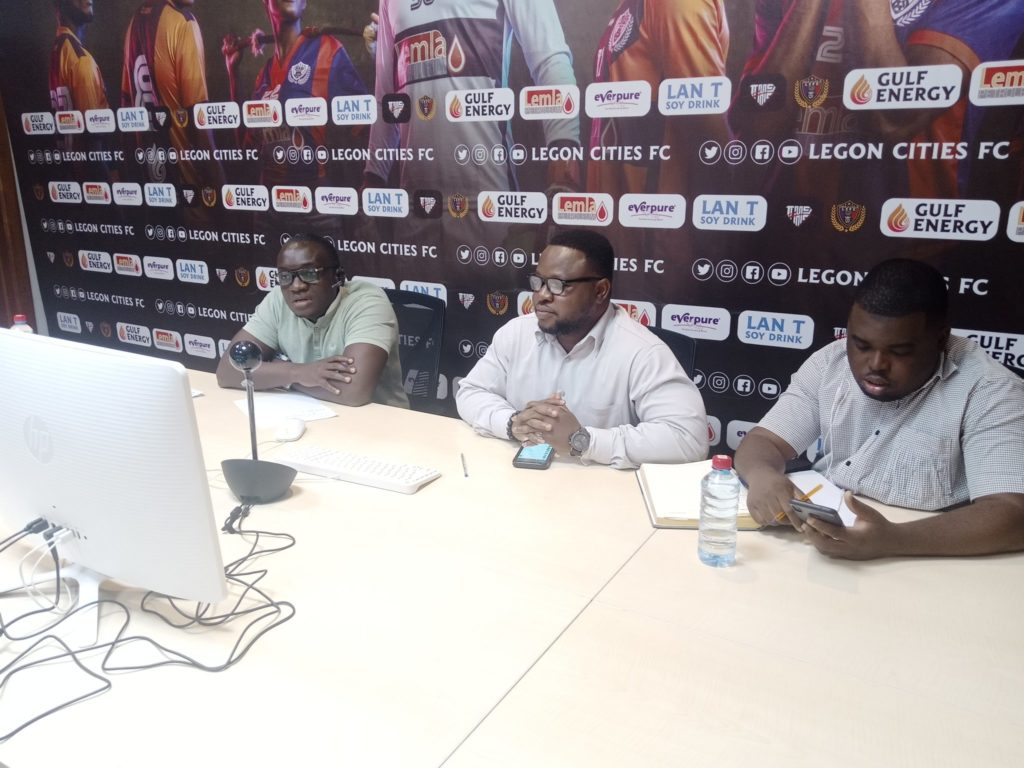 Legon Cities management set the pace by engaging fans on zoom