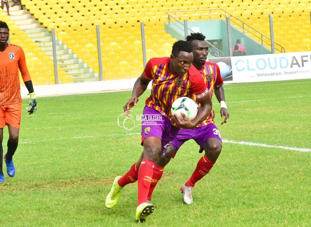 Hearts top scorer Kofi Kordzi earns praise of new teammate Abednego Tetteh
