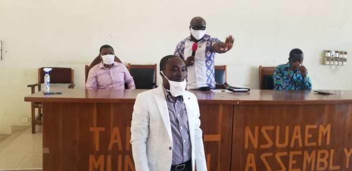 Medeama long-standing administrative manager Benjamin Kessie confirmed MCE for Tarkwa-Nsuaem