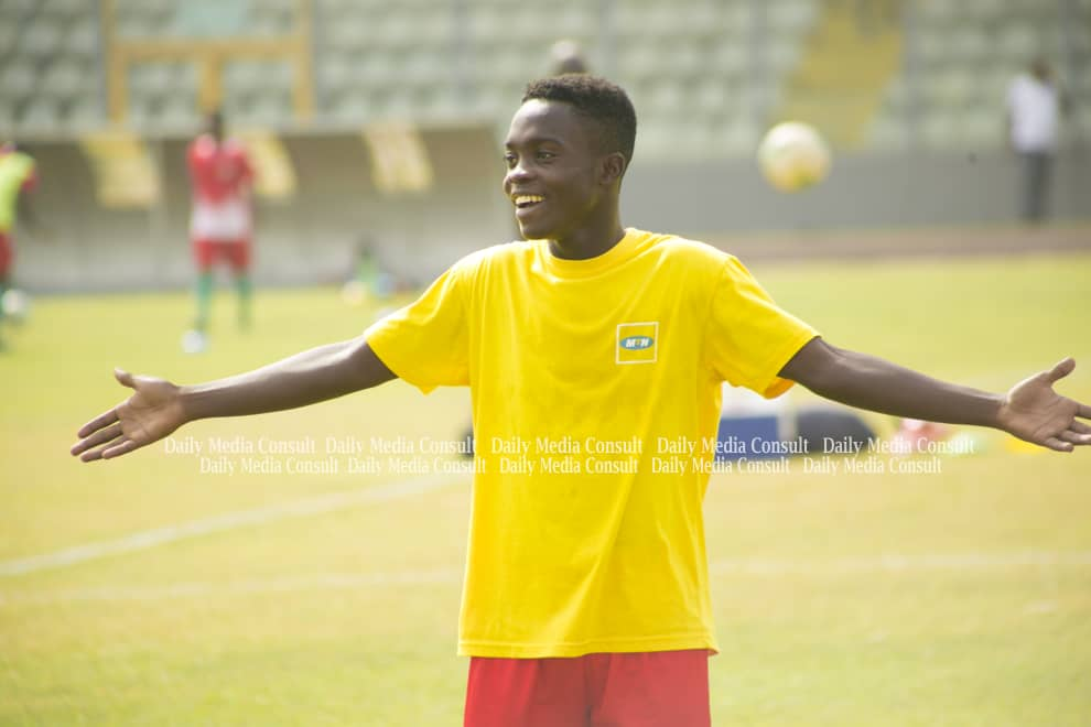 """Brave"" Kotoko wonderkid Matthew Anim Cudjoe expects Black Stars call-up"