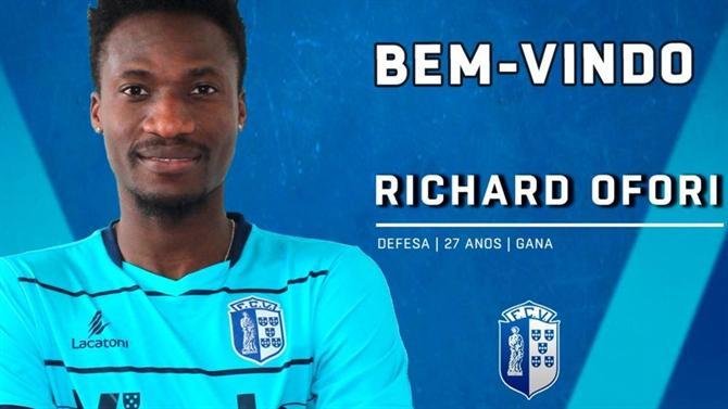 FC Vizela new recruit Richard Ofori wants to help club achieve its target
