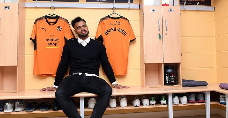 Wolves won't retain injury-prone Phil Ofosu-Ayeh, Ghana defender  set for Molineux exit