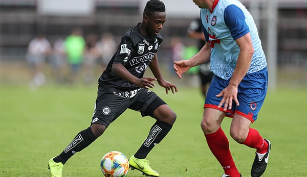 Ghanaian midfielder Winfred Amoah delighted to return to training with Sturm Graz