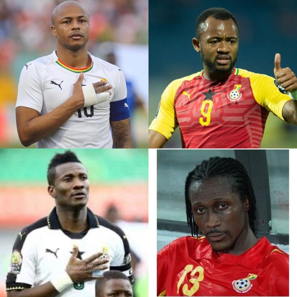 Check out Blood Brothers to have played for Ghana's Black Stars
