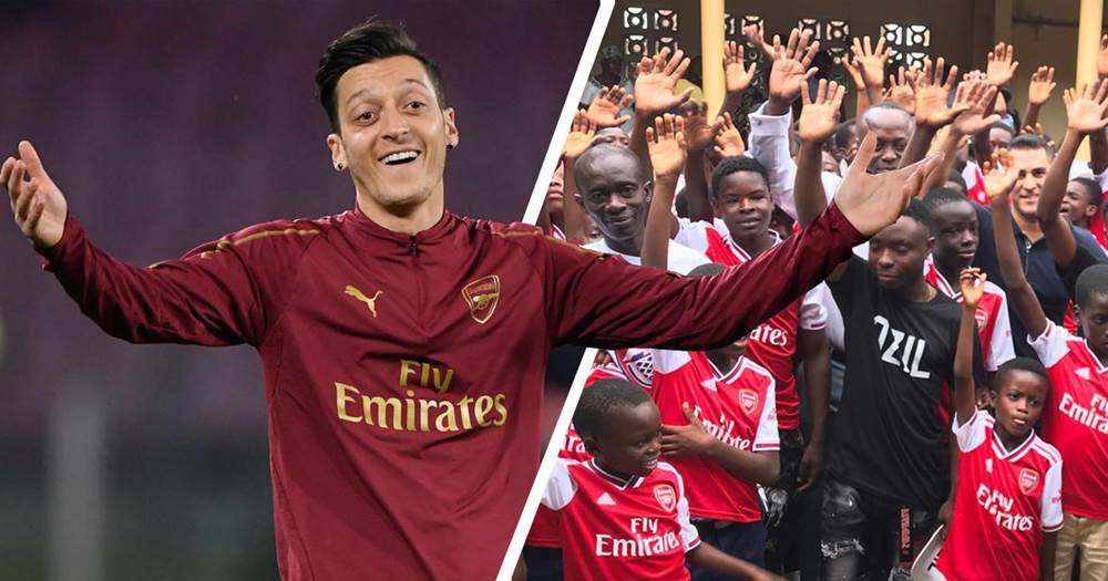 Arsenal fans react to Mesut Ozil's surprise role in Thomas Partey transfer deal
