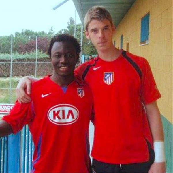 Ex-Ghana youth striker Saddick Adams lifts lid on friendship with goalkeeper David De Gea