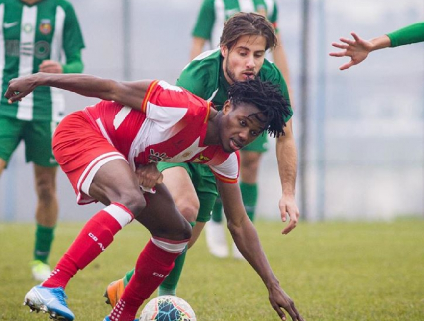 Ghanaian youngster Kelvin Boateng marks debut for CD Aves in defeat against Moreirense