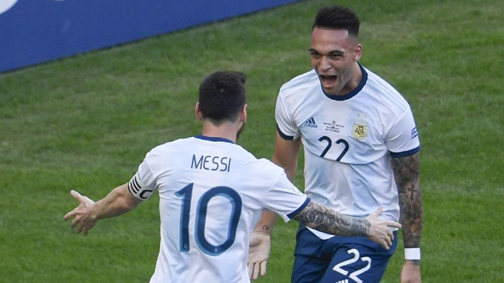 Argentina coach Scaloni: If Lautaro plays with Messi he is better