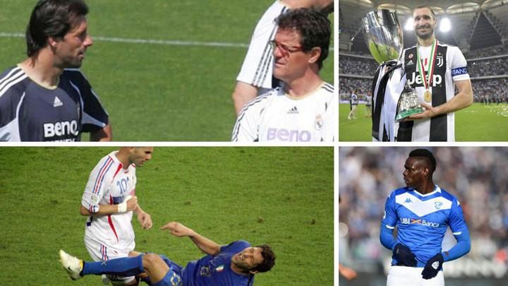 Chiellini & Balotelli, Materazzi & Zidane... Explosive revelations in lockdown