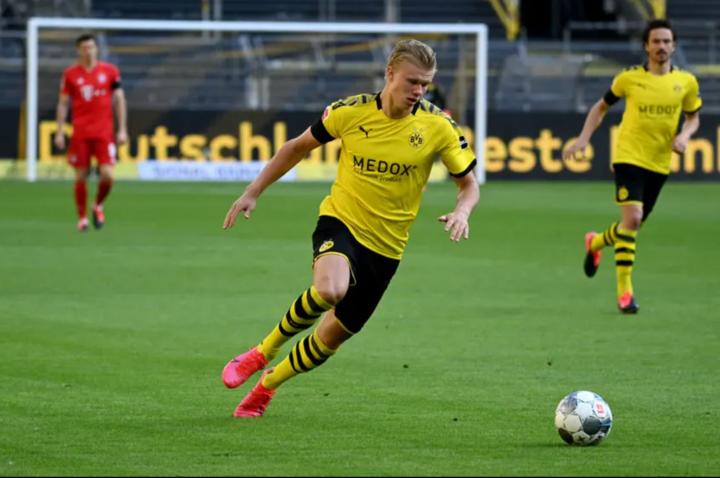 Haaland still doubtful for Dortmund's next clash due to injury (Bild)