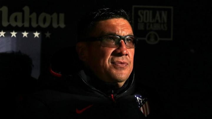 Atlético Madrid assistant German 'Mono Burgos' to leave the club