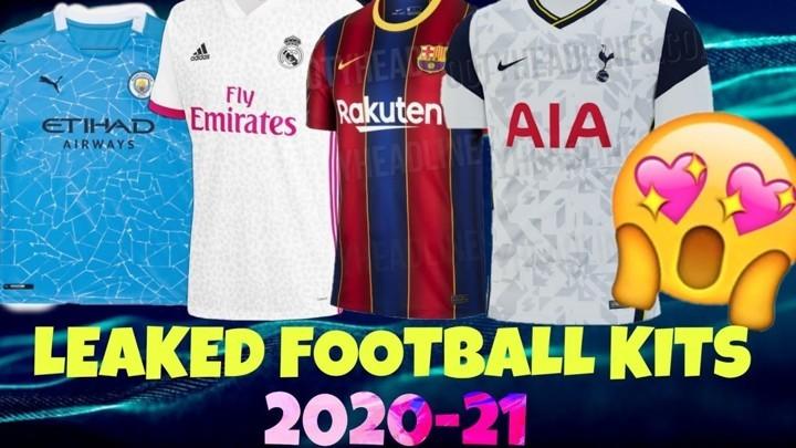 Man Utd, Arsenal, Chelsea, Barcelona, Real Madrid & more leaked kits for 2020-21