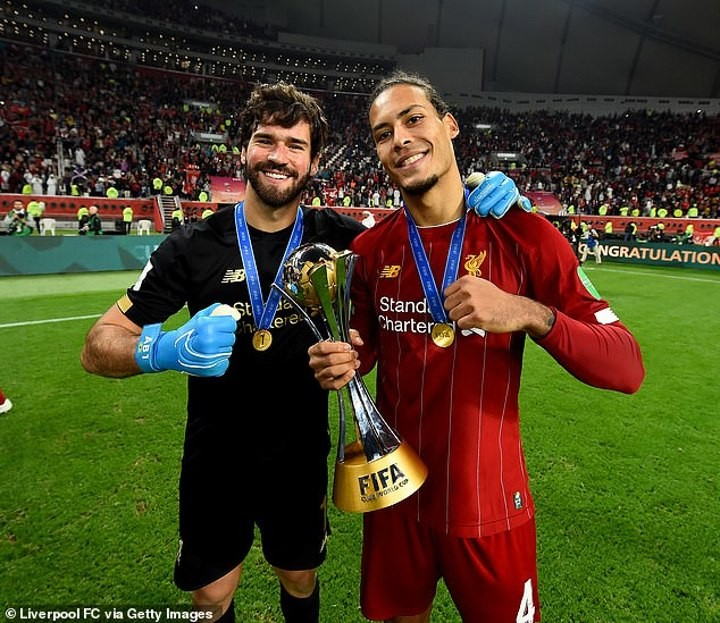 Liverpool 'to renew with Van Dijk & Alisson' after missing out on Werner