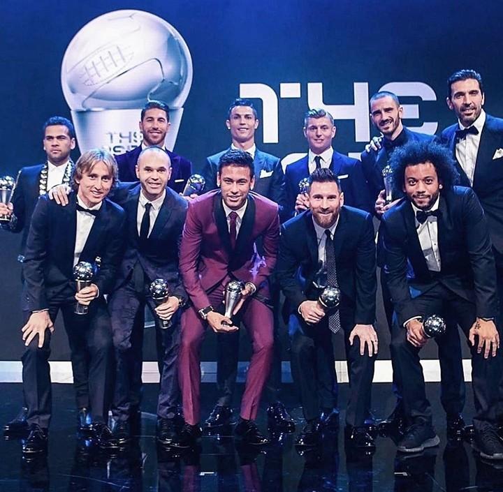 Iniesta picks Messi, Xavi, Ramos and Ronaldo as his ideal football player