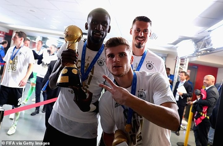 Agent Antonio! Rudiger 'played key role in convincing Werner to join Chelsea'
