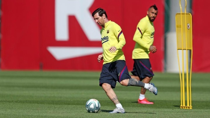 Missing Messi: Absent from Barcelona training once again